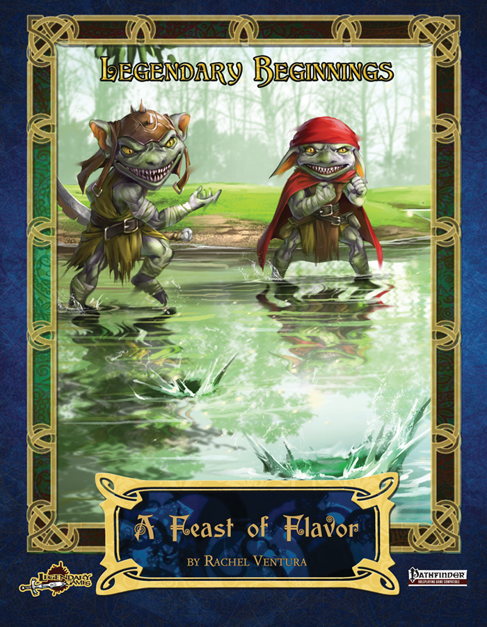 Legendary Beginnings: A Feast of Flavor