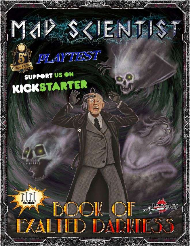 The Mad Scientist Class Playtest (5E) - Legendary Games | 5th