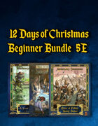 12 Days of Christmas Beginner Bundle (5E) [BUNDLE]