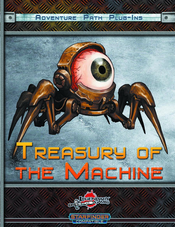 Treasury of the Machine (Starfinder) - Legendary Games   Metal Gods