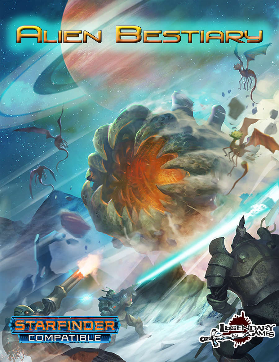 Alien Bestiary (Starfinder) - Legendary Games | Legendary