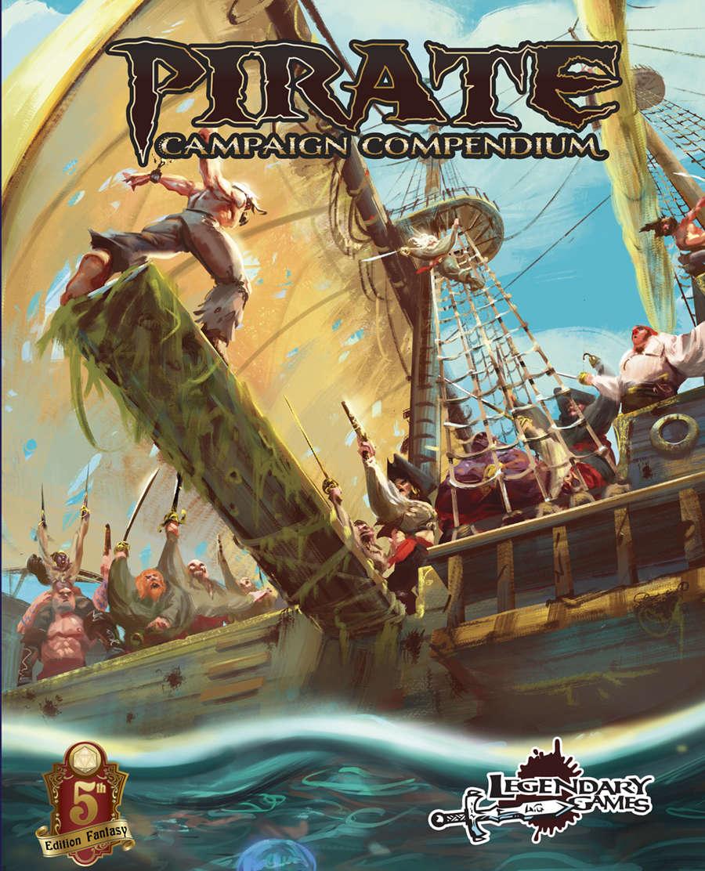Pirate Campaign Compendium (5E) - Legendary Games | Pirate