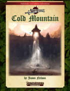 Cold Mountain (Pathfinder Second Edition)