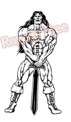 Always Royalty Free Images - Image #17 - Barbarian at Ease