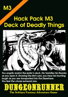 Dungeonrunner M3: Deck of Deadly Things