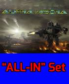 Alpha Mecha - Mecha Combat PnP version - ALL-IN