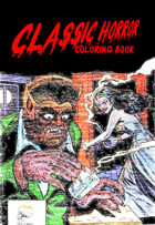 Classic Horror Coloring Book
