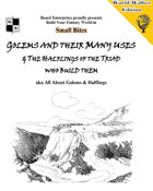 Golems and their Many Uses & The Halflings of the Triad who build them aka All About Golems & Halflings