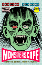 Fanzine Sardine: Monsterscope