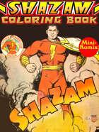 Shazam Coloring Book