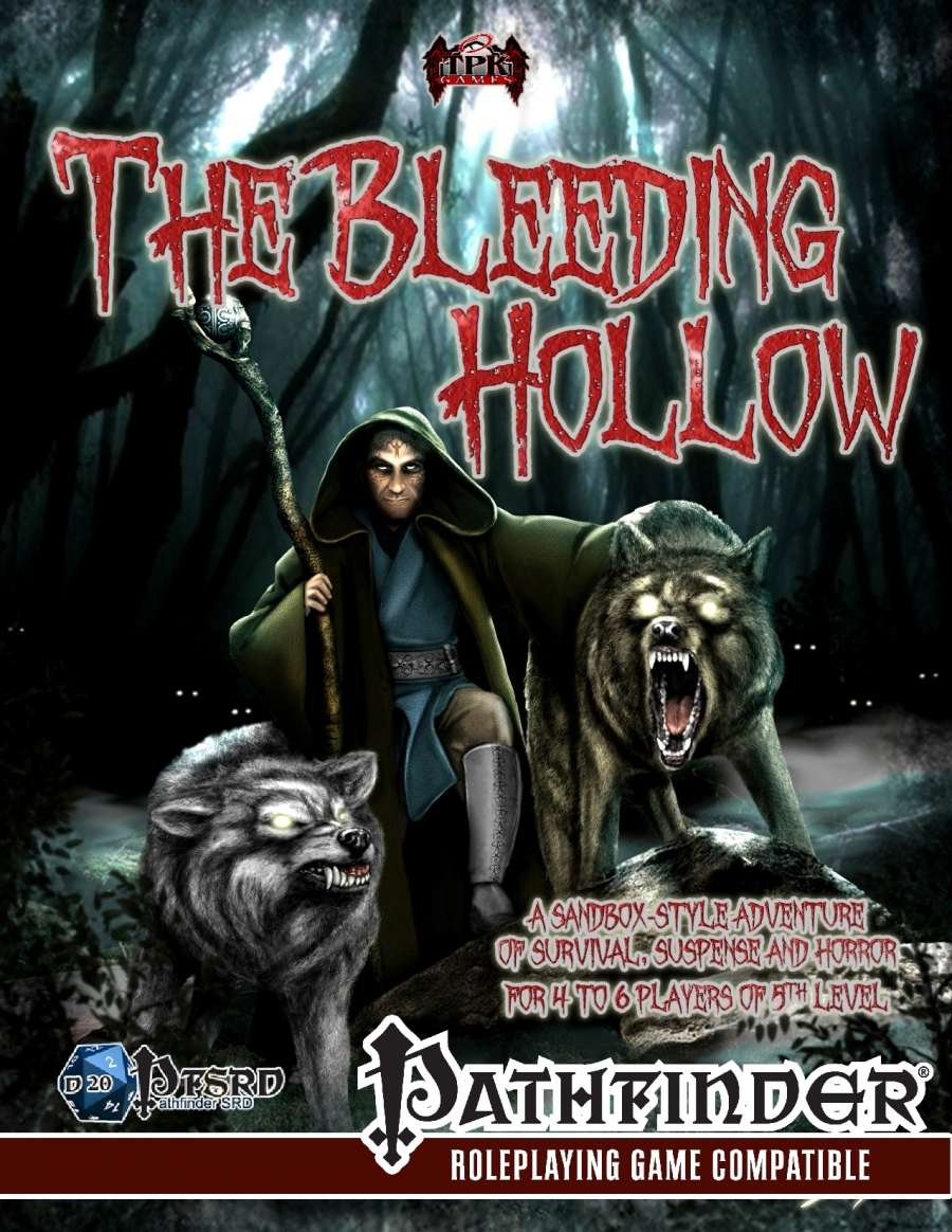 Cover of The Bleeding Hollow Deluxe Adventure