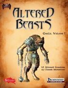 Altered Beasts: Gnolls, Vol. I (PF/5e)