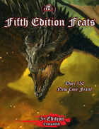 Fifth Edition Feats (5e)