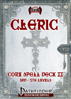 Cleric Spell Deck II (3rd-5th) [PF]