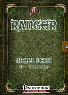 Ranger Spell Deck [PF]