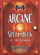 Pathfinder 2 - Arcane Tradition Spell Deck III [6th - 10th]
