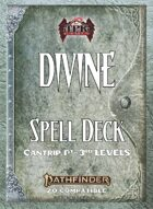Pathfinder 2 - Divine Tradition Spell Deck I [Cantrips -3rd]