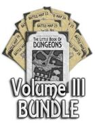 Book of Dungeons - Volume III [BUNDLE]