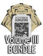 Book of Dungeons - Volume III [BUNDLE]