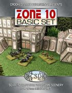 Zone 10 - Basic Set (10mm terrain)