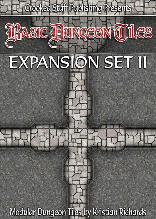 Basic Dungeon Tiles : Expansion Set 2