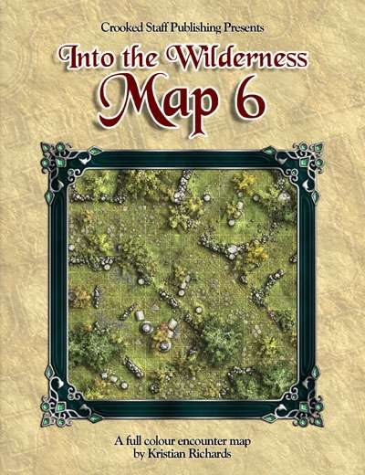 Into the Wilderness: Map 6