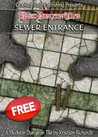 Basic Dungeon Tiles : Sewer Entrance