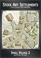 Stock Art Settlements - Small Village 2