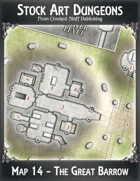 Stock Art Dungeons - Map 14 - The Great Barrow