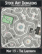 Stock Art Dungeons - Map 15 - The Labyrinth