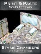 Print & Paste Sci-Fi Terrain : Stasis Chambers