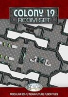 Colony 19 - room set (28mm)