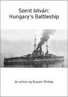 Szent István: Hungary's Battleship