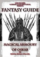 Fantasy Guide: Magical Armoury by Lans Macabre