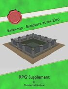 Battlemap : Enclosure at the Zoo