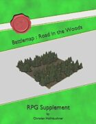 Battlemap : Road in the Woods
