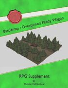 Battlemap : Overturned Paddy Wagon