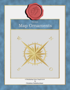 Stockart : Map Ornaments