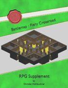 Battlemap : Fiery Crossroad