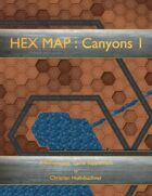 HEX MAP : Canyons I