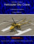 Helicopter Sky Crane