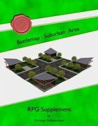 Battlemap : Suburban Area