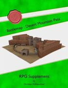 Battlemap : Desert Mountain Pass