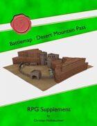 Battlemap : Desert Mountain Pass