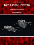 Starships Book I00II0 : Kite Class Corvette