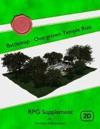 Battlemap : Overgrown Temple Ruin