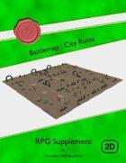 Battlemap : City Ruins