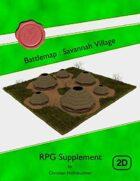 Battlemap : Savannah Village