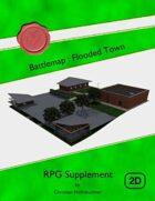 Battlemap : Flooded Town