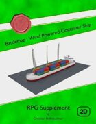 Battlemap : Wind Powered Container Ship
